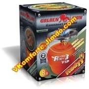 """Газовый комплект: GOLDEN LION™ VIP """"Rudyy Rk-3"""" 8л. фото"""