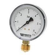 Манометр радиальный Watts (Ваттс) 0-6 бар, 1/4 фото