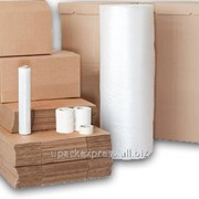 """Гофролист из картона с рилевом для упаковки мебели 2000*180-Т 21 """"В"""" бурый, (на поддоне) фото"""