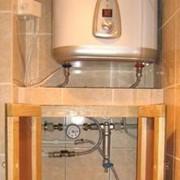 Установка накопительных водонагревателей, Донецк фото