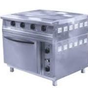 Плита электрическая напольная с духовым шкафом с электронным терморегулятором ПЭП-0,48М-ДШ-Э фото