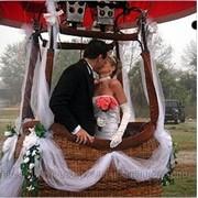 Свадебные Полеты на Воздушном шаре фото