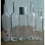 Бутылки водочные стеклянные