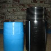 Трубы пластиковые, фильтры и бентонит фото