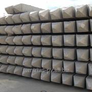 Сваи забивные железобетонные цельные, квадратного сплошного сечения 400х400 мм. марка С 40.40 – 6 фото