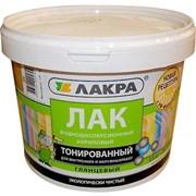 Лак тонированный Сосна 2,5 кг ВД Лакра фото