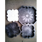 Пластиковые формы для брусчатки и тротуарной плитки. фото