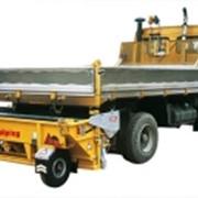 FALKOPPING Буксируемые и навесные песко/солеразбрасыватели для тракторов. фото