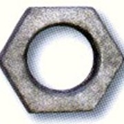 Контргайка оцинкованная чугунная ГОСТ 8961-75 Dу 15 фото