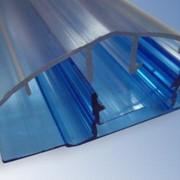 Профиль поликарбонатный соединительный (разъёмный) фото