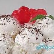 Мороженое ванильное фото