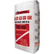 Быстротвердеющая клеевая смесь для керамогранита и плитки SE49 фото