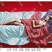Схема для вышивки бисером Муза для художника фото