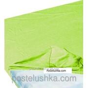 Простынь на резинке Zastelli джерси 160*200+25см Зеленый фото