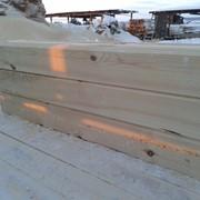 Профилированный брус из сибирского кедра фото