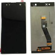 Дисплей для Sony H4213 (XA2 Ultra Dual) в сборе с тачскрином черный Оригинал фото