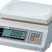 Весы электронные фасовочные CAS SW-2,5,10,20 фото