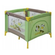 Манеж Bertoni PLAY STATION (green beige puppies) фото