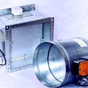 Клапан противопожарной системы вентиляции (КОП) фото