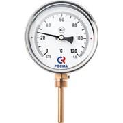 Биметаллический термометр БТ-32.211 радиальный фото
