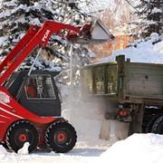 Уборка снега, вывоз снега фото