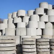 Железобетонные конструкции колодцев. фото