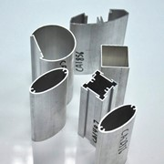 Профили алюминиевые для строительства (сплав АА 6063 и АА 6060) фото