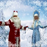 Новогодний утренник с Дедушкой Морозом фото