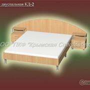 Кровать двуспальная КД-2 фото