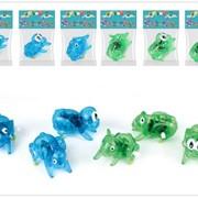 Заводная игрушка - Заводнушка животные прозрачные в ассорт.в пак.,8135A/NN фото