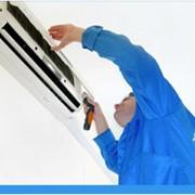Монтаж систем вентиляции и кондиционирования фото