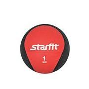 Медбол Starfit Pro GB-702 1 кг красный фото