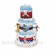 Торт из подгузников Lighthouse фото