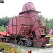 Бункерная уборочная машина МТФ-43 фото