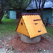 Домики для колодца д-2 фото