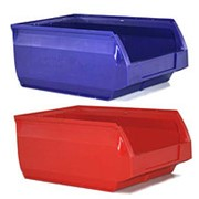 Пластиковый ящик для склада 400х230х200 фото