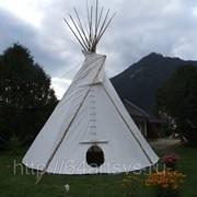 Типи (индейское жилище) фото