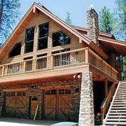 Строительство загородных домов. Проектирование и строительство деревянных домов. Цены антикризисные. фото
