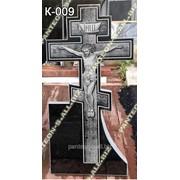 Крест гранитный модель К-009 фото
