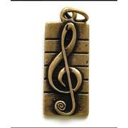 Кулон Скрипичный ключ фото