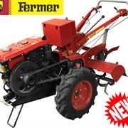 Мотоблок с дизельным двигателем FERMER FDE-1001PRO фото