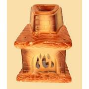 Аромалампа керамическая Печка фото