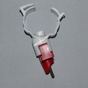 Ниппельная поилка для уток и гусей под круглую трубу 25 мм. фото