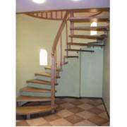 Винтовая лестница на больцах фото