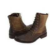 Ботинки мужские из кожи фото