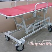 Каталка для перевозки больных с регулируемой высотой.КПП-3г фото