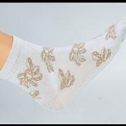 Женские махровые носки фото
