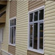 Обшивка домов сайдингом фото