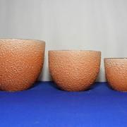 Горшки керамические оранж фото