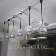 Установка осветительных приборов в кафе фото
